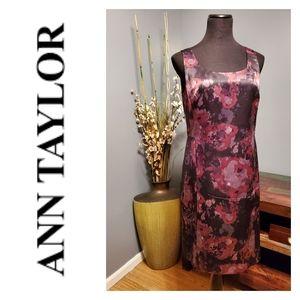 NWT Ann Taylor Sleeveless Floral dress size 12P